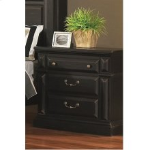 Night Stand - Antique Black Finish