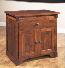Nightstand w/ Drawer and Doors