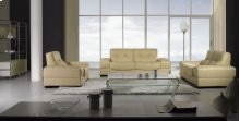 Divani Casa BO3884 Modern Beige Leather Sofa Set