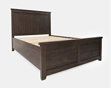 Madison County King Panel Footboard - Barnwood