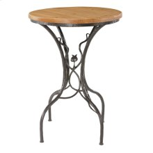 Sassafras Iron 40 inch high Bar Table
