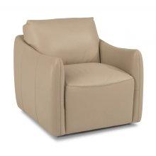 Morgan Leather Swivel Chair