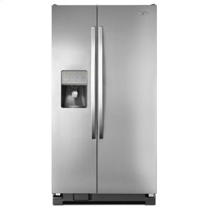 Whirlpool36 Inch Wide Side By Refrigerator With Water Dispenser 25 Cu