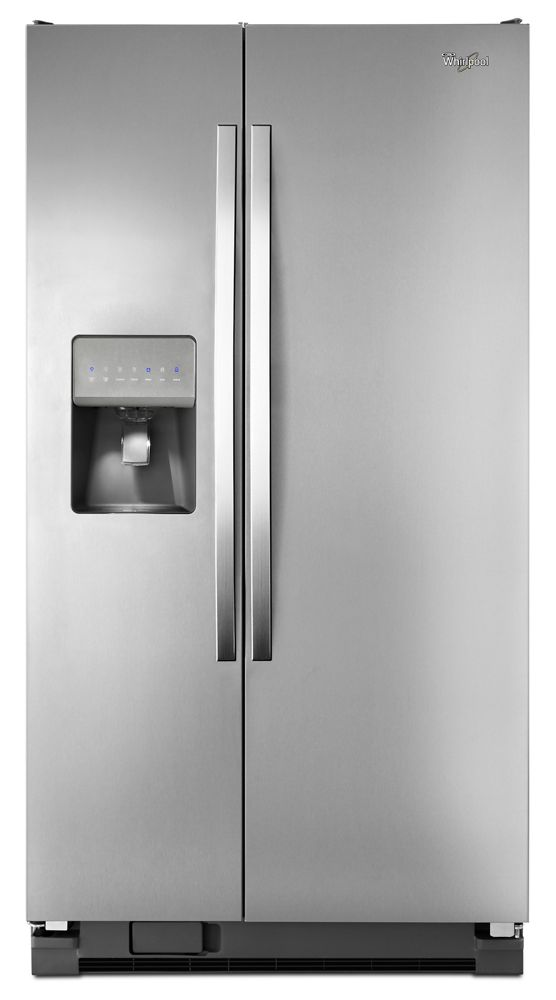 Gentil WHIRLPOOL36 Inch Wide Side By Side Refrigerator With Water Dispenser   25 Cu