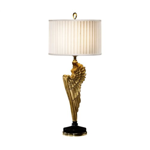 Angel Wing Gilded Table Lamp