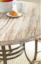 """Ellen Table Base (30""""H)& 4 Side Chairs, 18"""" x 23"""" x 39"""" Product Image"""