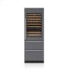 "Subzero 30"" Designer Wine Storage With Refrigerator Drawers - Panel Ready"