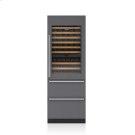 "30"" Designer Wine Storage with Refrigerator/Freezer Drawers - Panel Ready Product Image"