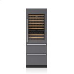"SUB-ZERO30"" Designer Wine Storage with Refrigerator Drawers - Panel Ready"