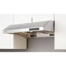 "30"" Hurricane Undercabinet Hood with 695 CFM Blower, 3 Speed Levels"