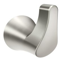 Danika brushed nickel robe hook