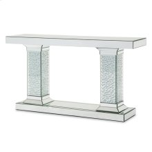 Mirrored Console Table W/crystal Accents (3 Pc)