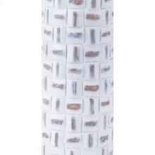 Mosaic Bottle Lg Antique White