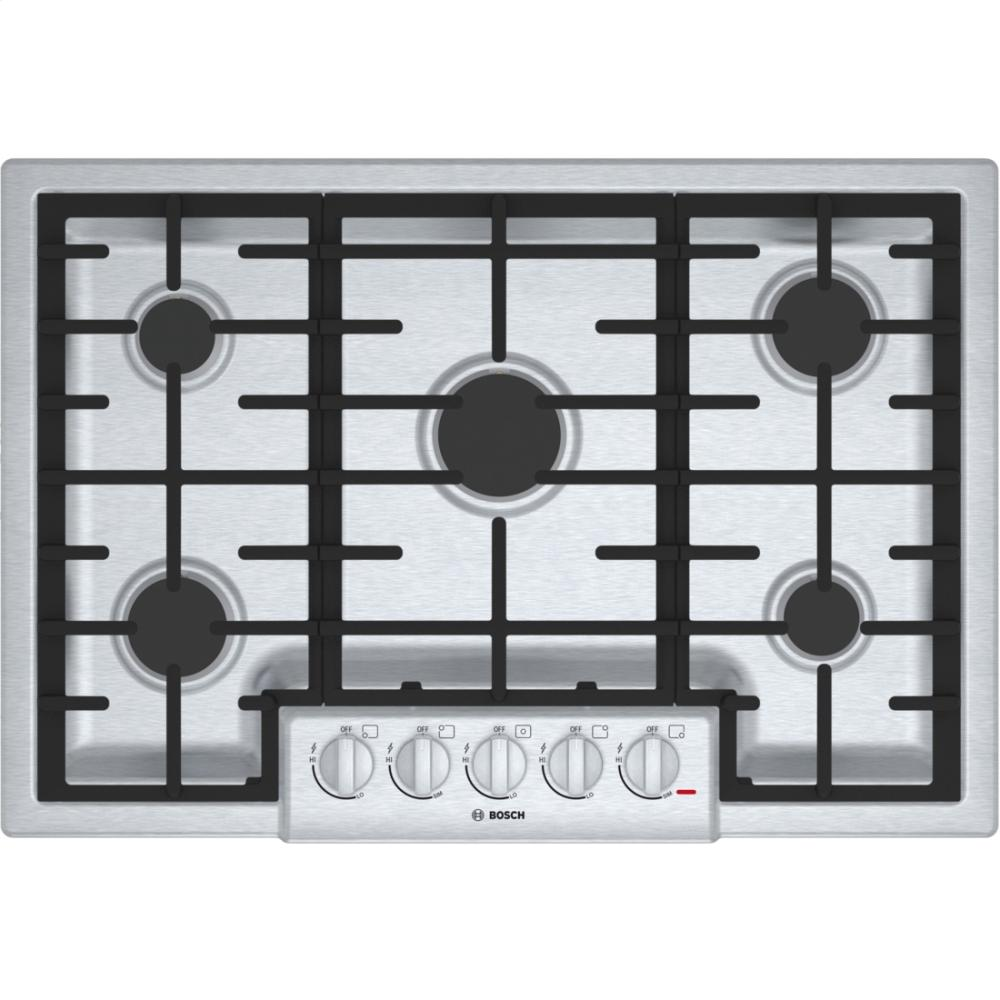 30' Gas Cooktop 800 Series - Stainless Steel