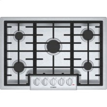 """30"""" Gas Cooktop 800 Series - Stainless Steel (Scratch & Dent)"""