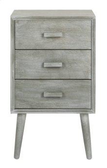 Pomona 3 Drawer Chest - Slate Grey