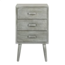 Pomona 3 Drawer Chest - Slate Grey