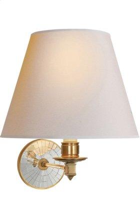 Visual Comfort AH2016NB-NP Alexa Hampton Ida 1 Light 12 inch Natural Brass Decorative Wall Light