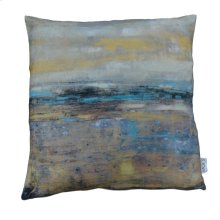 Skyline Velvet Feather Cushion 25x25