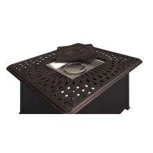 Fire Pit (gas Bowl) W/fire Glass