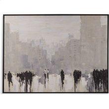 Rainy Day Cityscape