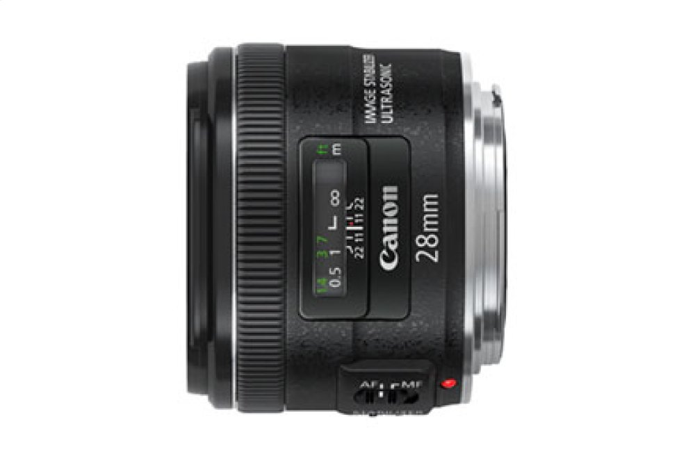 Canon EF 28mm f/2.8 IS USM Wide-Angle Lens