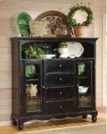 Wilshire Baker's Cabinet Rubbed Black Product Image
