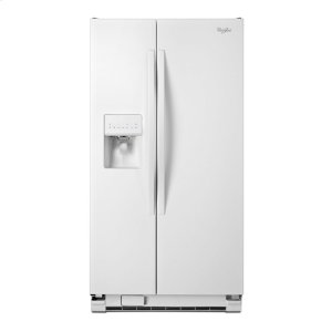 Whirlpool 36-Inch Wide Side-By-Side Refrigerator With Water Dispenser - 25 Cu. Ft.