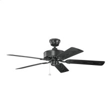 Renew Patio Collection 52 Inch Renew Patio Ceiling Fan SBK