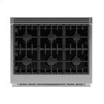 """Fisher & Paykel Dual Fuel Range, 36"""", 6 Burners, Self-cleaning"""
