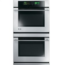 """GE Monogram® 30"""" Built-In Double Wall Oven with Trivection® Technology"""