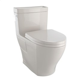 Aimes® One-Piece Toilet, 1.28GPF, Elongated Bowl - Washlet®+ Connection - Bone