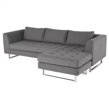 Matthew Sectional  Shale Grey