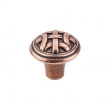 Celtic Small Knob 1 Inch - Old English Copper