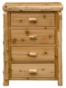 Four Drawer Chest - Natural Cedar - Premium Product Image