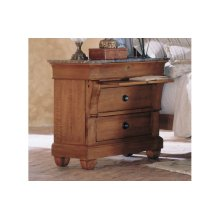 Bedside Chest Marble Top