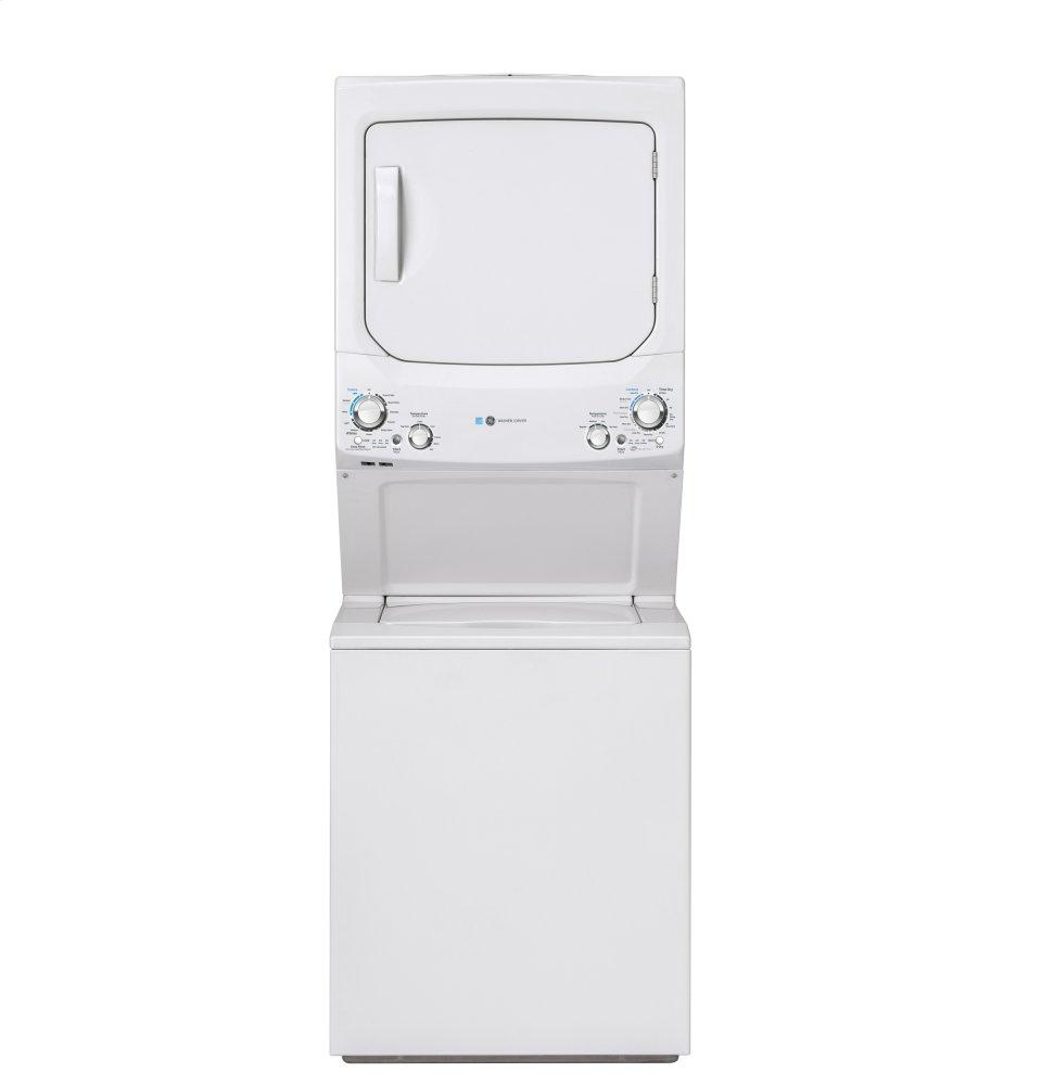GE Unitized Spacemaker(R) 3.9 cu. ft. Capacity Washer with Stainless Steel Basket and 5.9 cu. ft. Capacity Gas Dryer