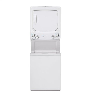 GE Unitized Spacemaker® 3.9 cu. ft. Capacity Washer with Stainless Steel Basket and 5.9 cu. ft. Capacity Electric Dryer