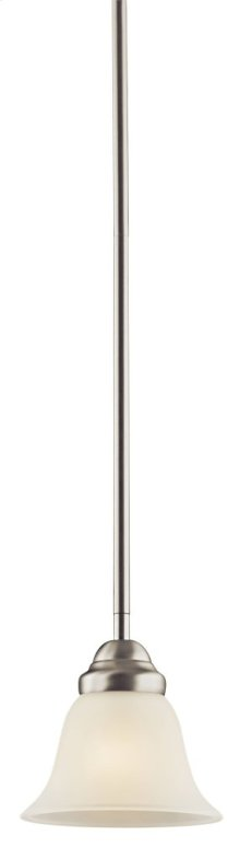 Wynberg 1 Light Mini Pendant Brushed Nickel