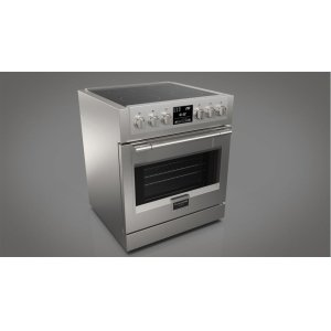 "Fulgor Milano30"" Induction Pro Range - stainless Steel"