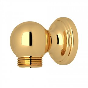 English Gold Perrin & Rowe Wall Outlet For Riser