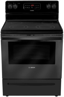 "30"" Electric Freestanding Range 300 Series - Black"