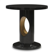 Crosscut End Table