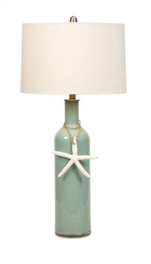 BF Hale Glass Coastal Table Lamp