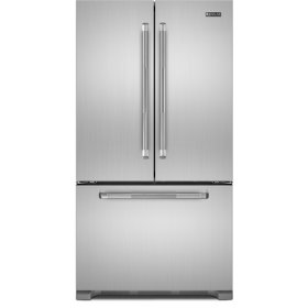 """72"""" Counter Depth French Door Refrigerator, Pro-Style® Stainless Handle"""