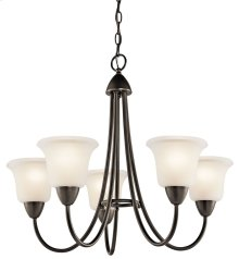 Nicholson 5 Light Chandelier Olde Bronze®
