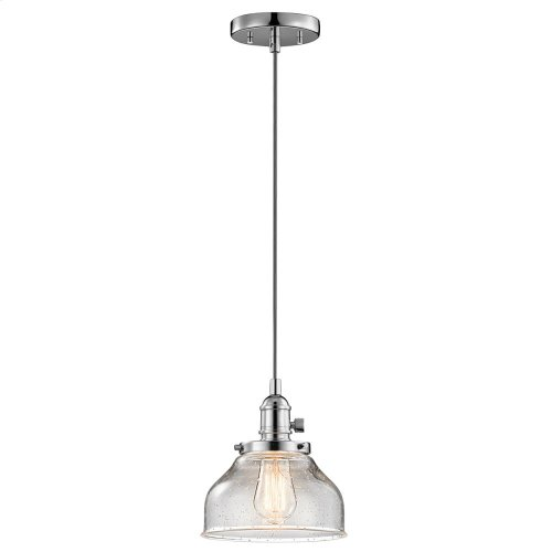 Avery Collection Avery 1 Light Mini Pendant CH