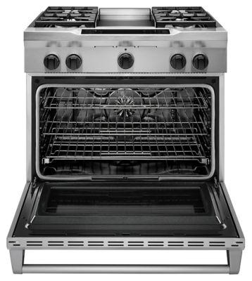 find kitchenaid ranges in ma dual fuel kdrs463vss. Black Bedroom Furniture Sets. Home Design Ideas