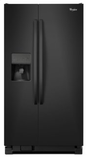 36-inch Wide Side-by-Side Refrigerator with Water Dispenser - 25 cu. ft. Product Image