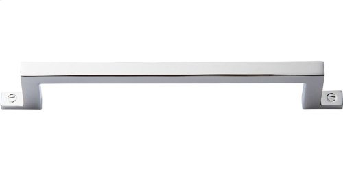 Campaign Bar Pull 5 1/16 Inch - Polished Chrome